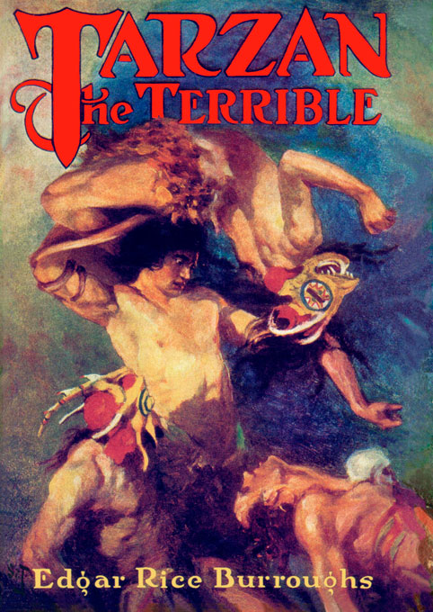 Cover art for TARZAN THE TERRIBLE