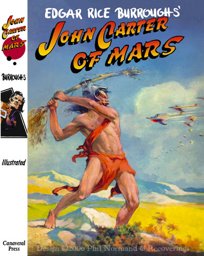 Alternate dj for the Canaveral edition of &quot;John Carter of Mars.&quot;