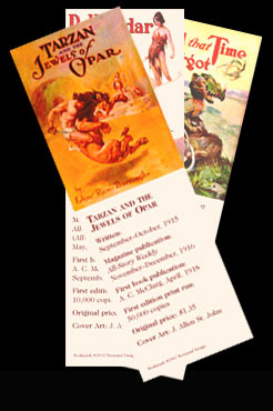 Bookmarks can be ordered in sets of 5
