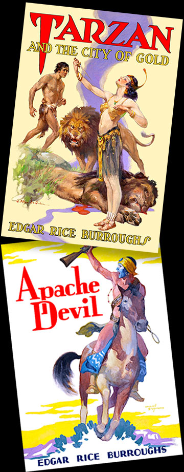 Tarzan and the City of Gold, Apache Devil covers