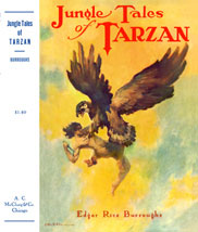 Tarzan fights a nightmare eagle.