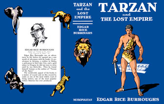 Complete spread for Tarzan and the Lost Empire dj