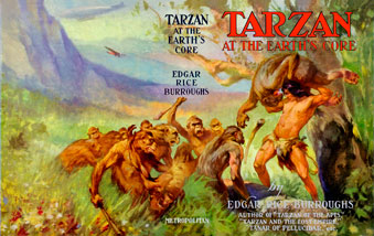 Tarzan at the Earth's Core wraparound dj